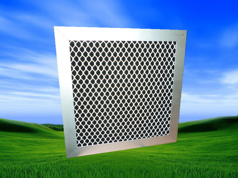 Panel Activated Carbon Air Filter (GC)