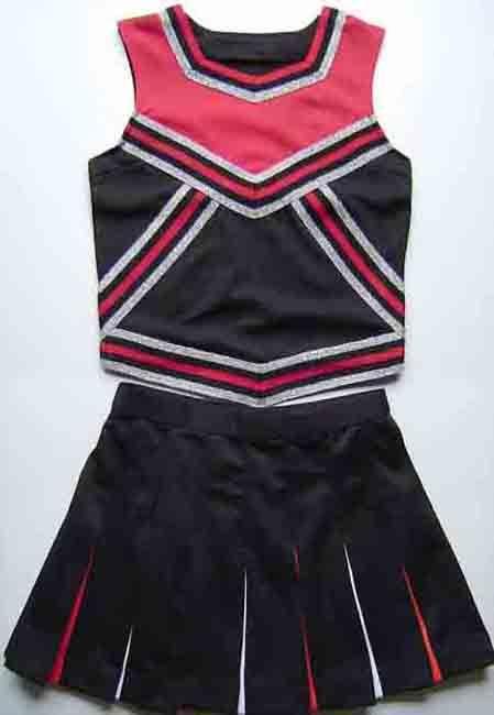 2017 Cheerleading Uniform, Cheerleader Costumes, Cheering Apparel