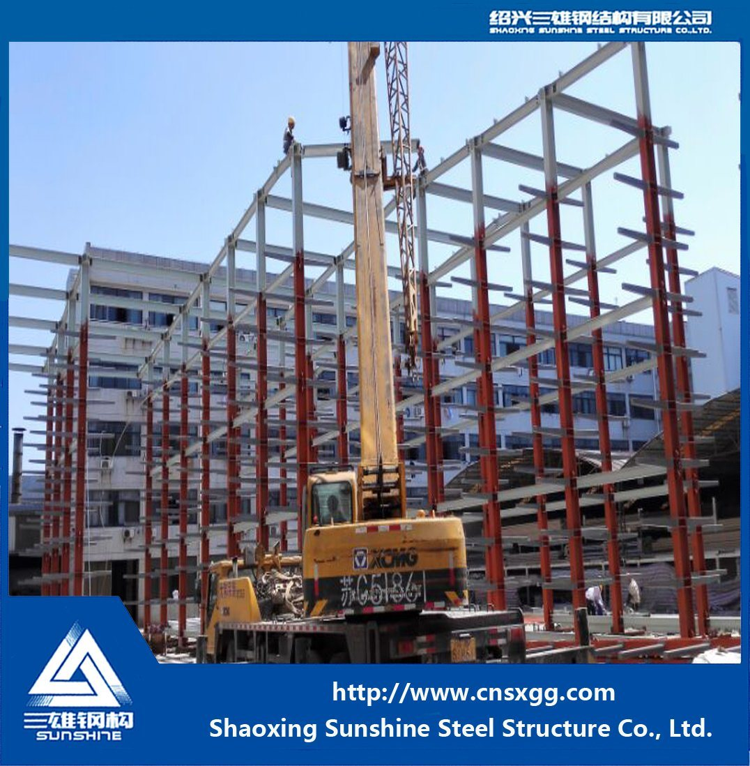 Prefabricated Steel Structure Frame Warehouse
