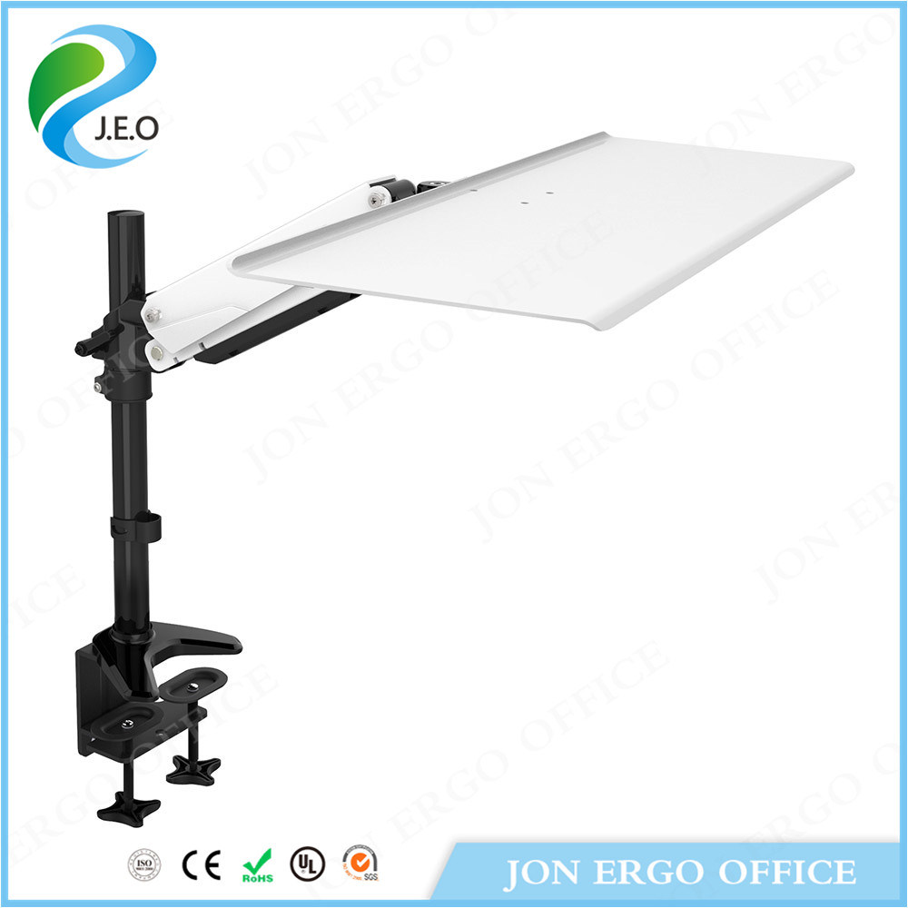 Gas Lifting Stand up Workstation/Monitor Mount with Keyboard (JN-WS14)