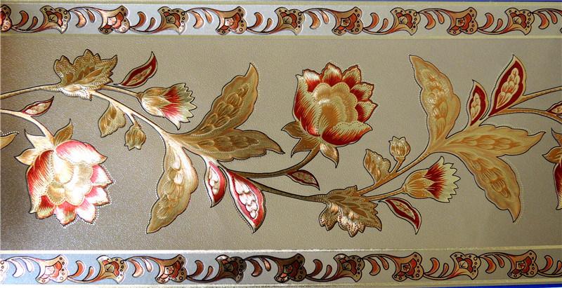 Gold Foil Wallpaper Border (RS18001)
