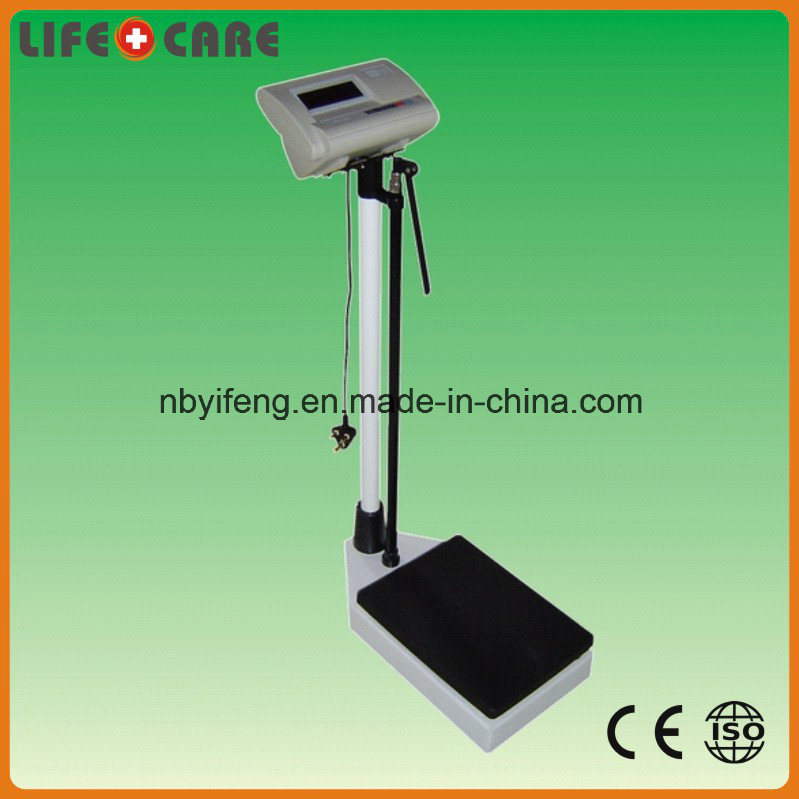 Height Measure Electronic Body Weight Scale