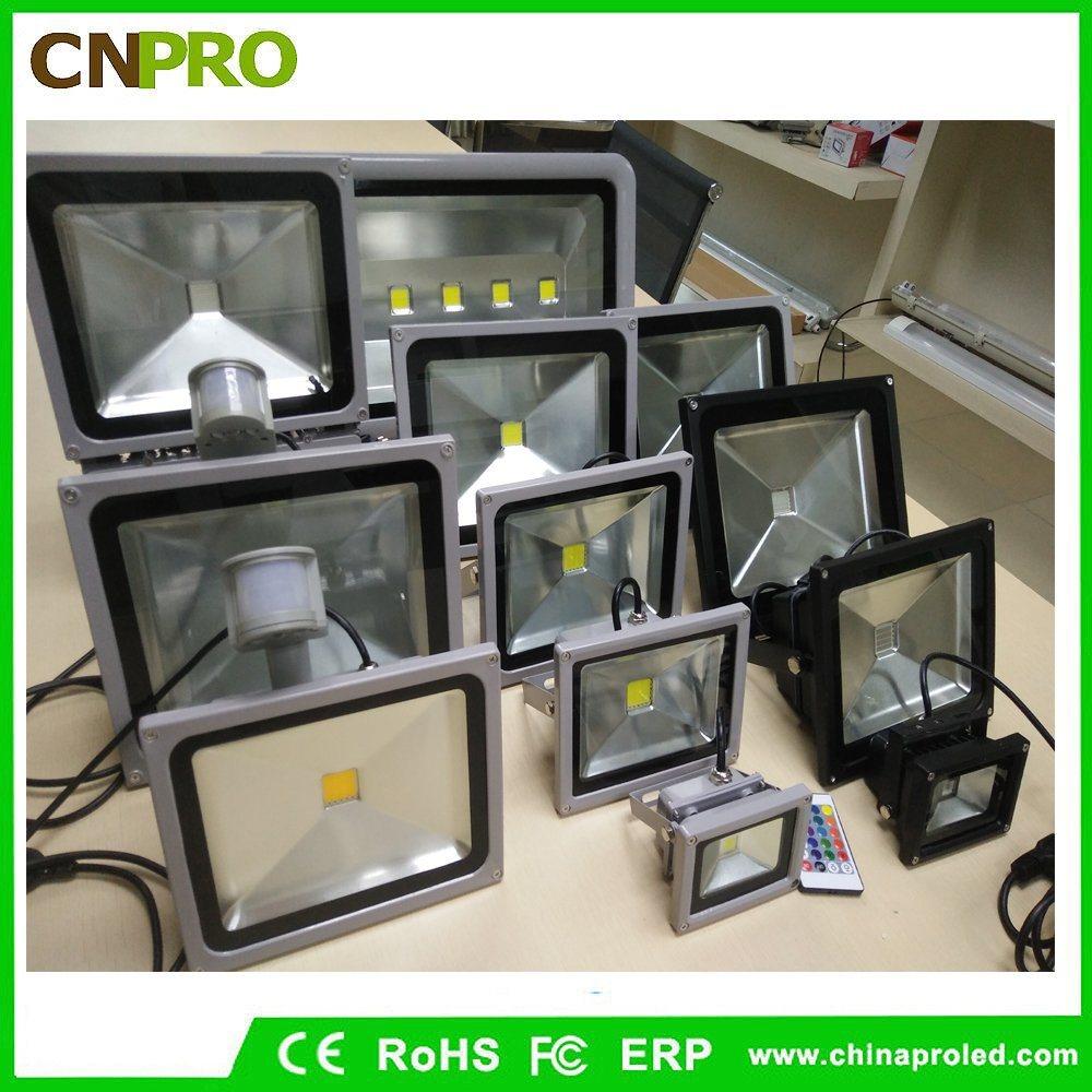 10W 20W 30W 50W RGB LED Flood Light with Memory Function