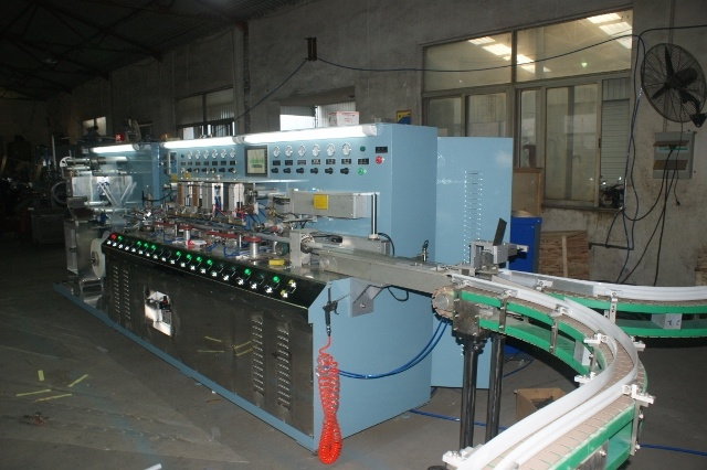 Aluminum-Plastic Laminated Tube Making Machine (B. GLS-IV)