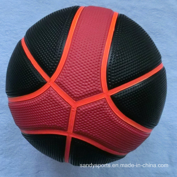 Special Golf Surface 9 Panel Rubber Basketball