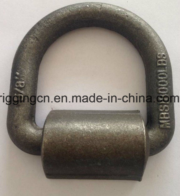 Forged D Lifting Ring with Welding Plate