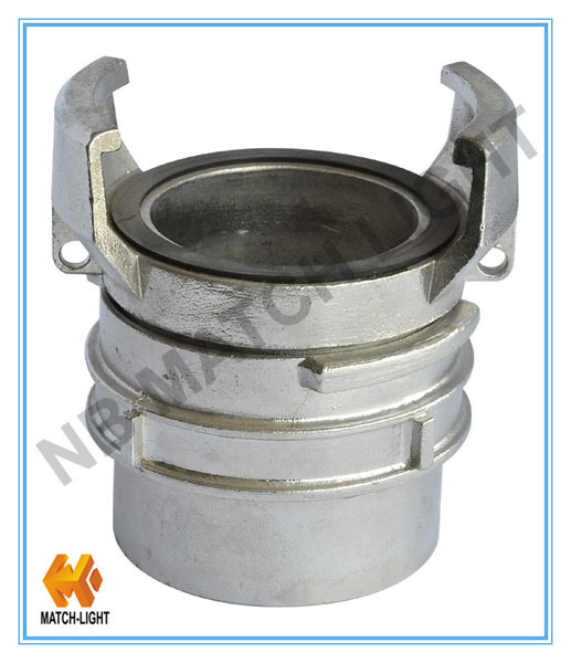 Gravity Casting Female Thread Aluminium Fire Coupling for Weling Bw