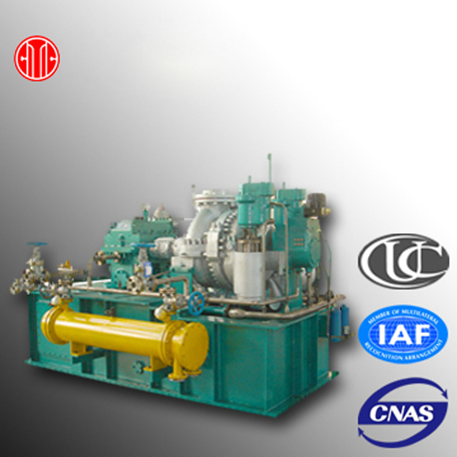 China Bacpressure Type Steam Turbine Used in Pharmaceutical