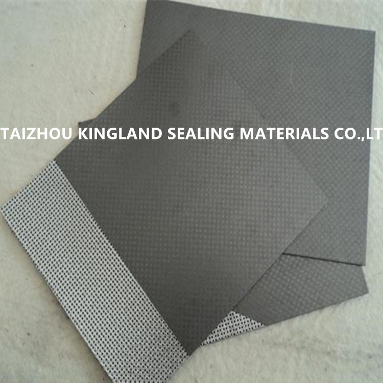 (KL1001G) Non-Asbestos Gasket Sheet Coated with Graphite
