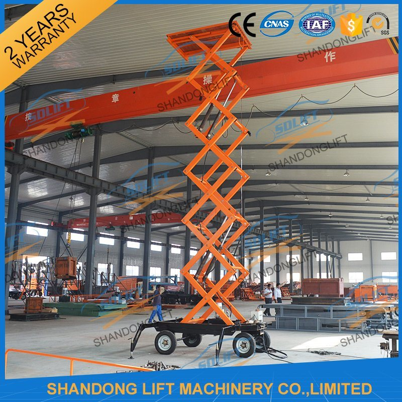 Lightweight Ladder Platform Extension Ladder with Ce