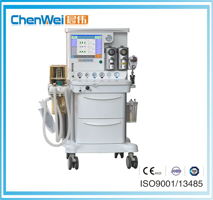 CE Approved Cwm-303 Electronic Gas Mixer Chenwei Anesthesia Workstation