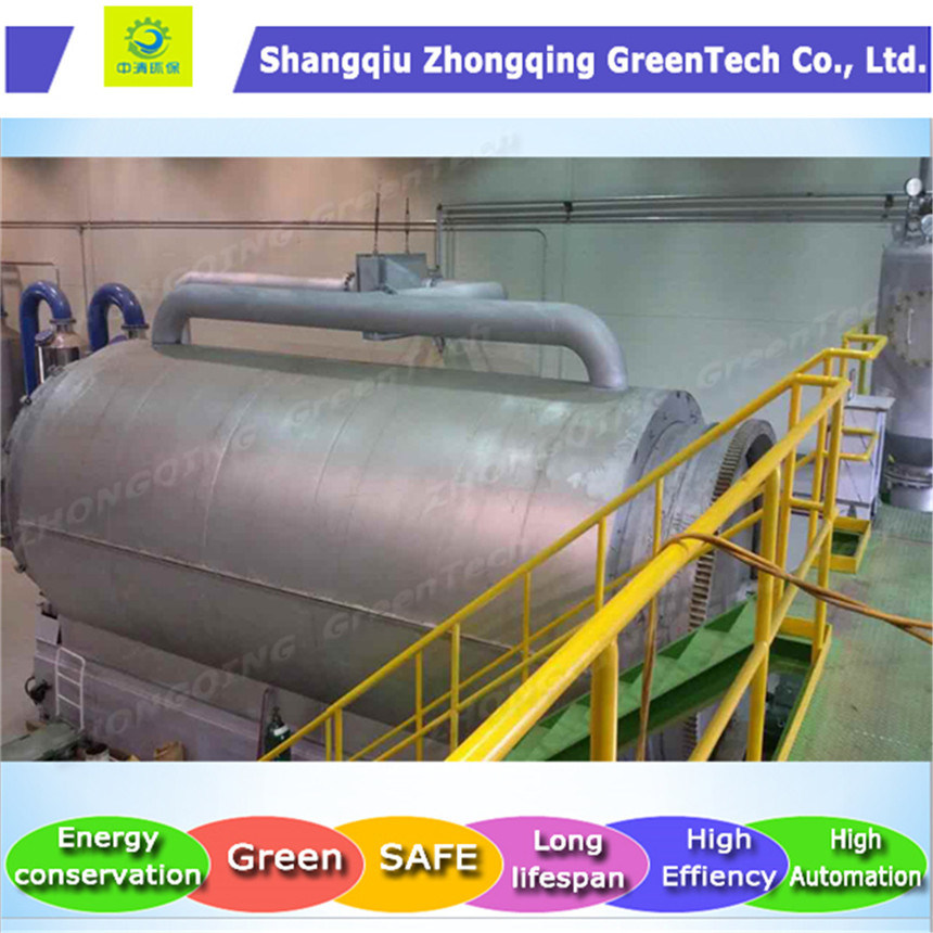 Latest Tire Recycling to Oil Machine with Ce and ISO Certificates