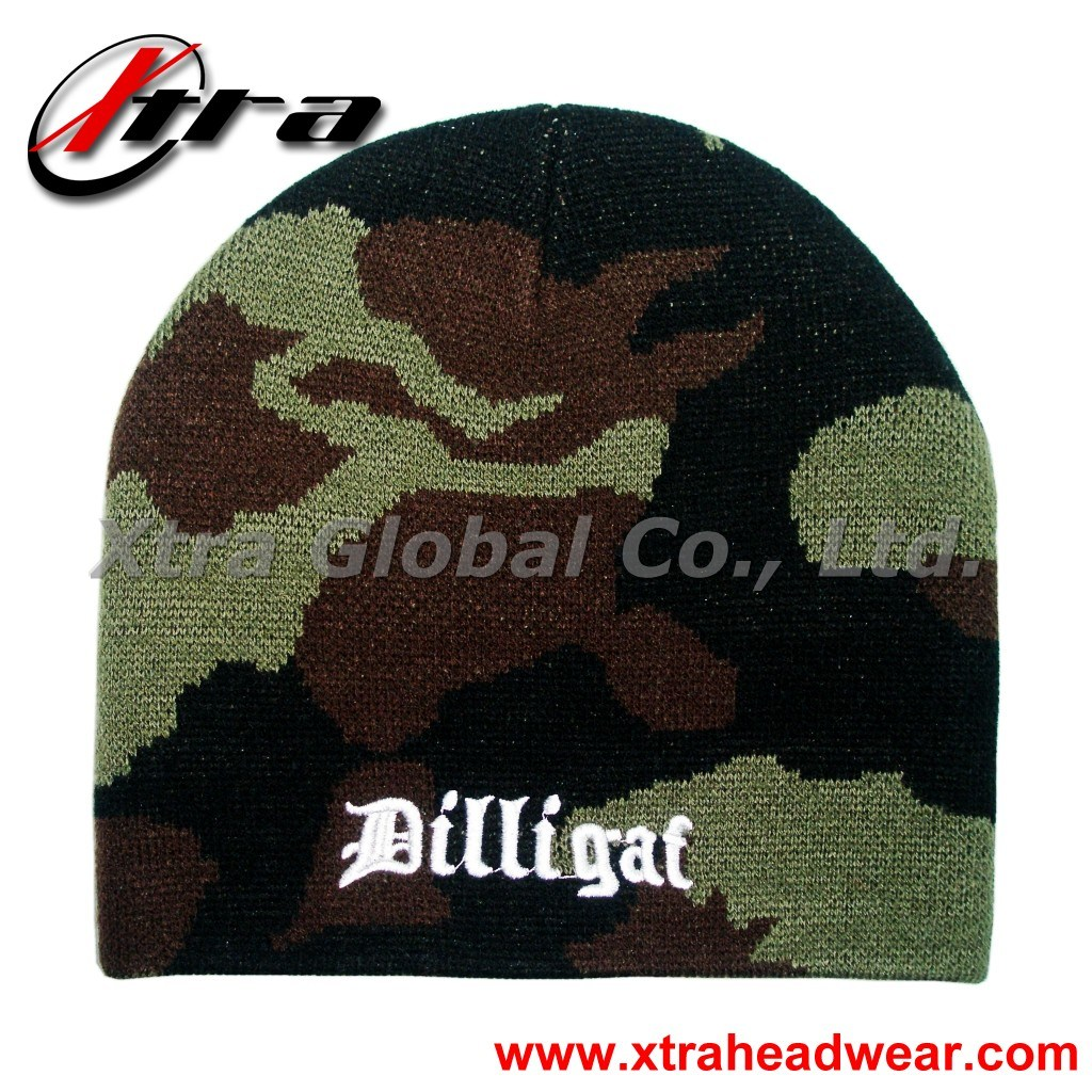 Camo Winter Hat (XT-W008)