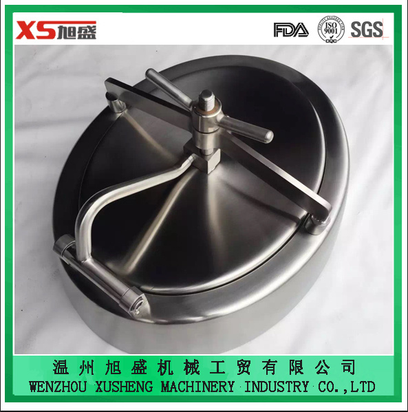 China High Quality AISI304 Stainless Steel Inwards Opening Oval Manway Door - China Oval Manway Inwards Manway & China High Quality AISI304 Stainless Steel Inwards Opening Oval ... pezcame.com