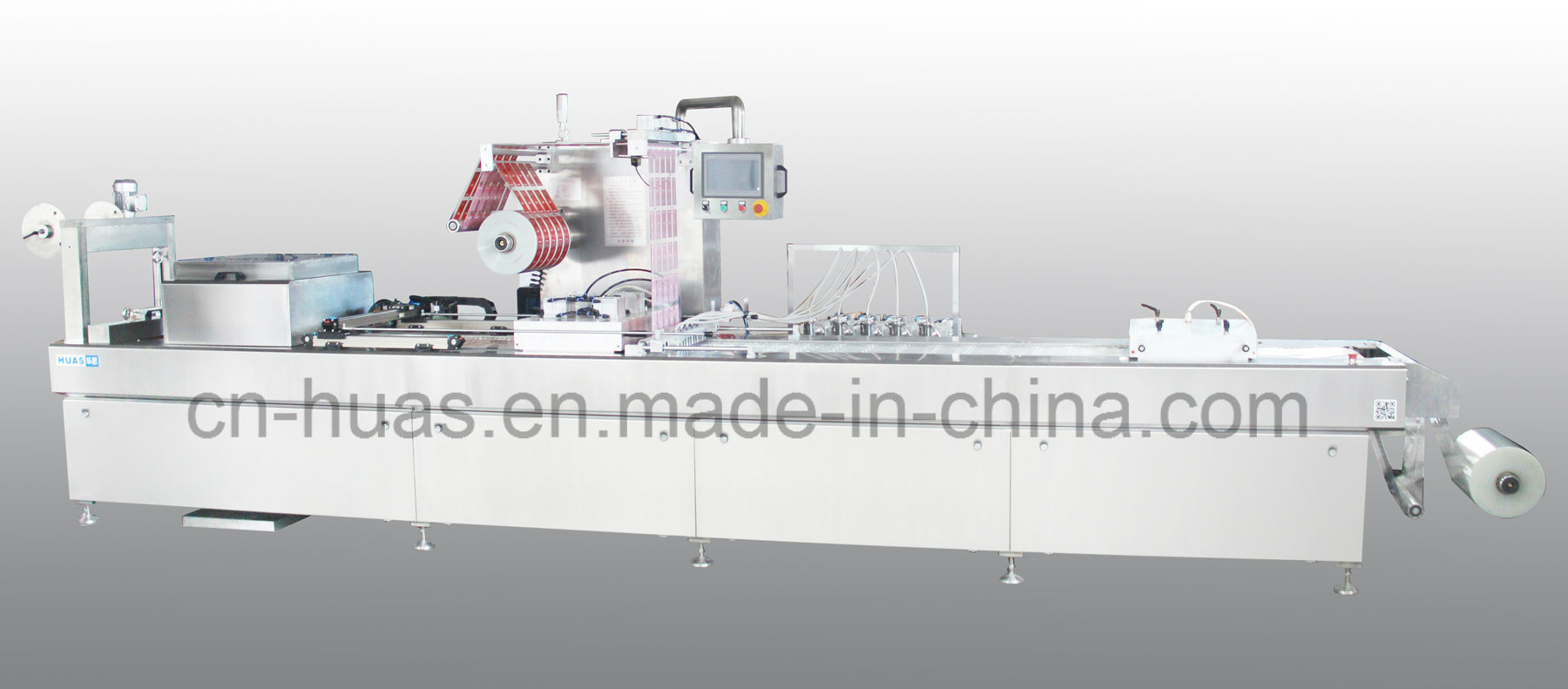 Modified Atmosphere Thermoforming Vacuum Packaging Machine