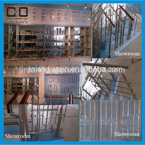 Stainless Steel Frameless Glass Railing Spigot