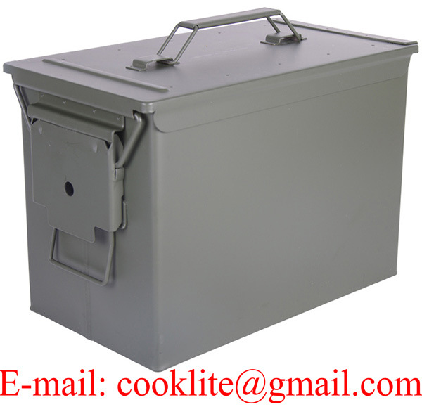 PA108 Fat 50 Cal Metal Ammo Box Ammunition Can