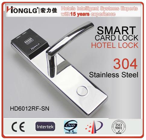 Waterproof Ce Standard Smart Hotel Card Door Lock (HD6012)