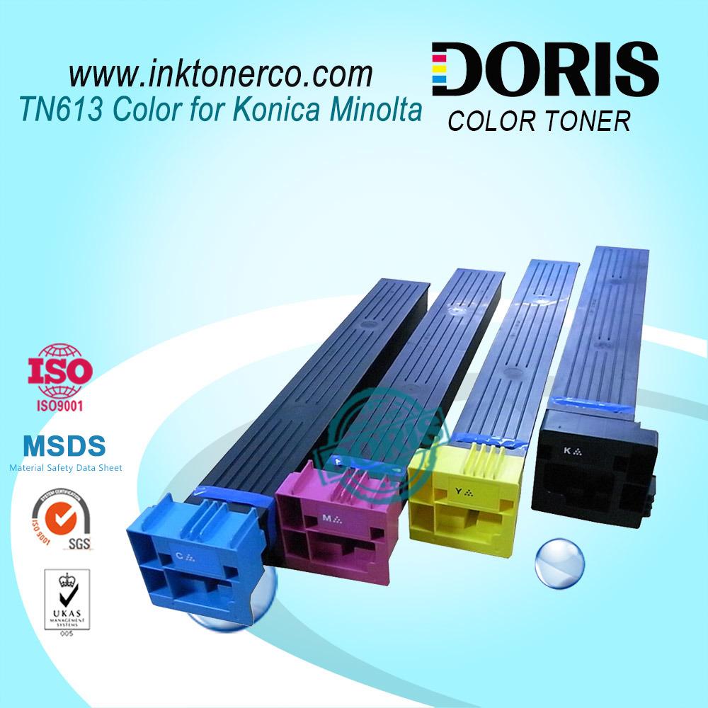 Tn613 Color Compatible Copier Toner Cartridge for Konica Minolta Bizhub C452 C552 C652