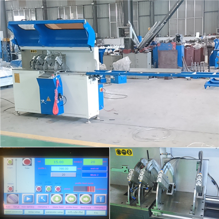 Double Aluminum Machine for Precise Cutting Profile