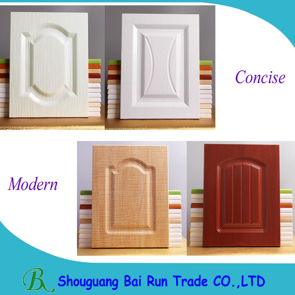 Furniture Parts PVC Kitchen Cabinet Door