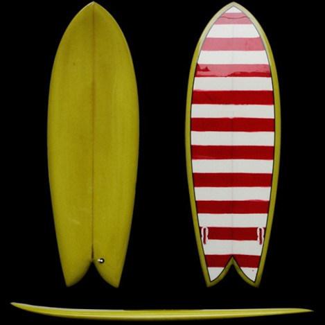 Retro Fish Surfboard Rsup 001 China Color Surfboard
