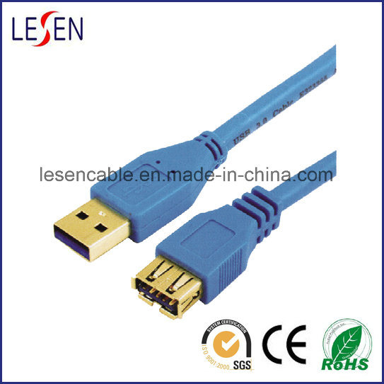 Super Speed USB 3.0 Cable, a Male to B Female