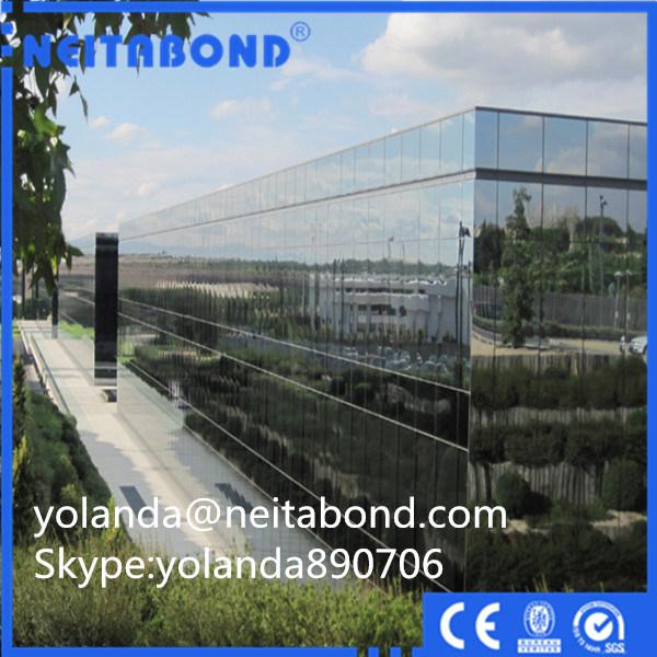Mirror 4mm Aluminum Composite Panel for Cladding