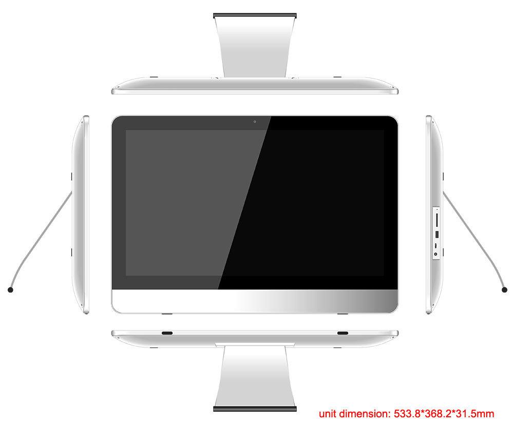 21.5inch Quad Core Smart TV Tablet PC