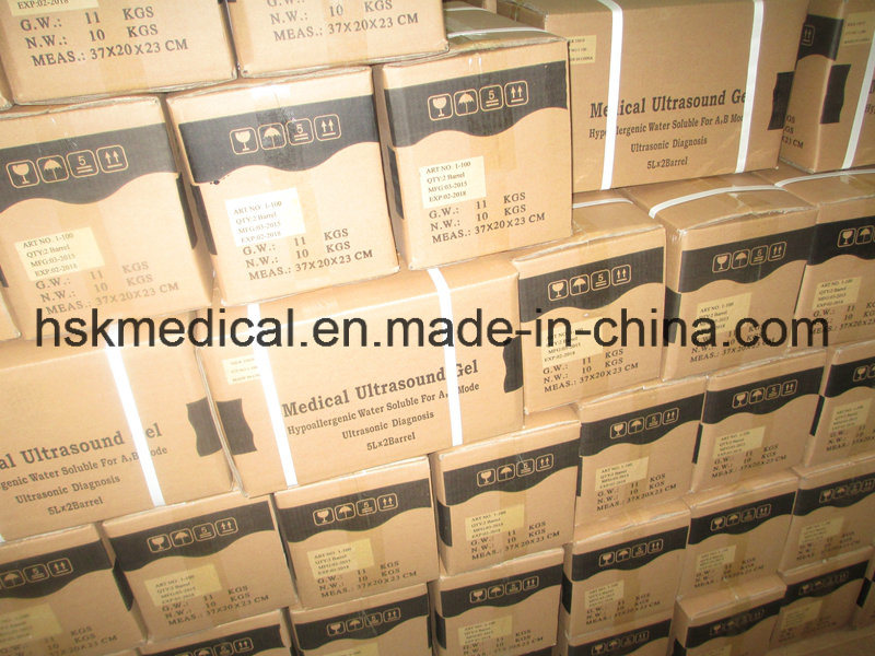 China Manafacture Water-Soluble High Ploymer Ultrasound Gel-10L