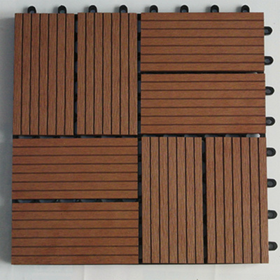 China wood plastic composite flooring outdoor floor tiles for Outdoor timber flooring