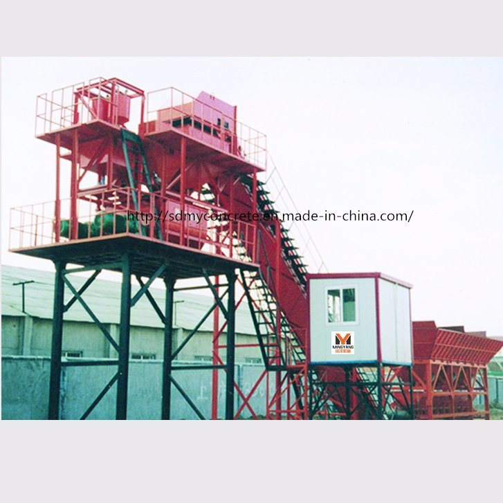 60m3/H Automatic Concrete Batching Plant / Concrete Mixing Plant