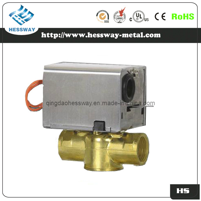 2 Way Motorized Electric Flow Control Valve with CE