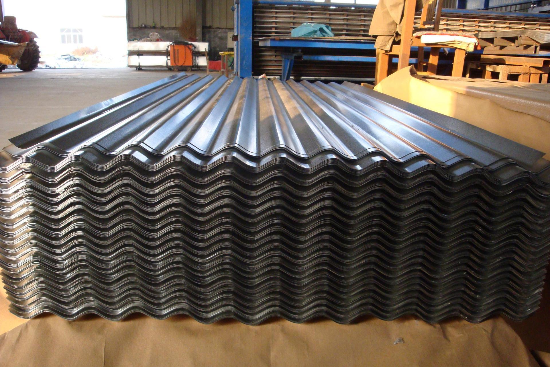 Various Ral Color Code Corrugated Galvanized Aluzinc Steel Roofing
