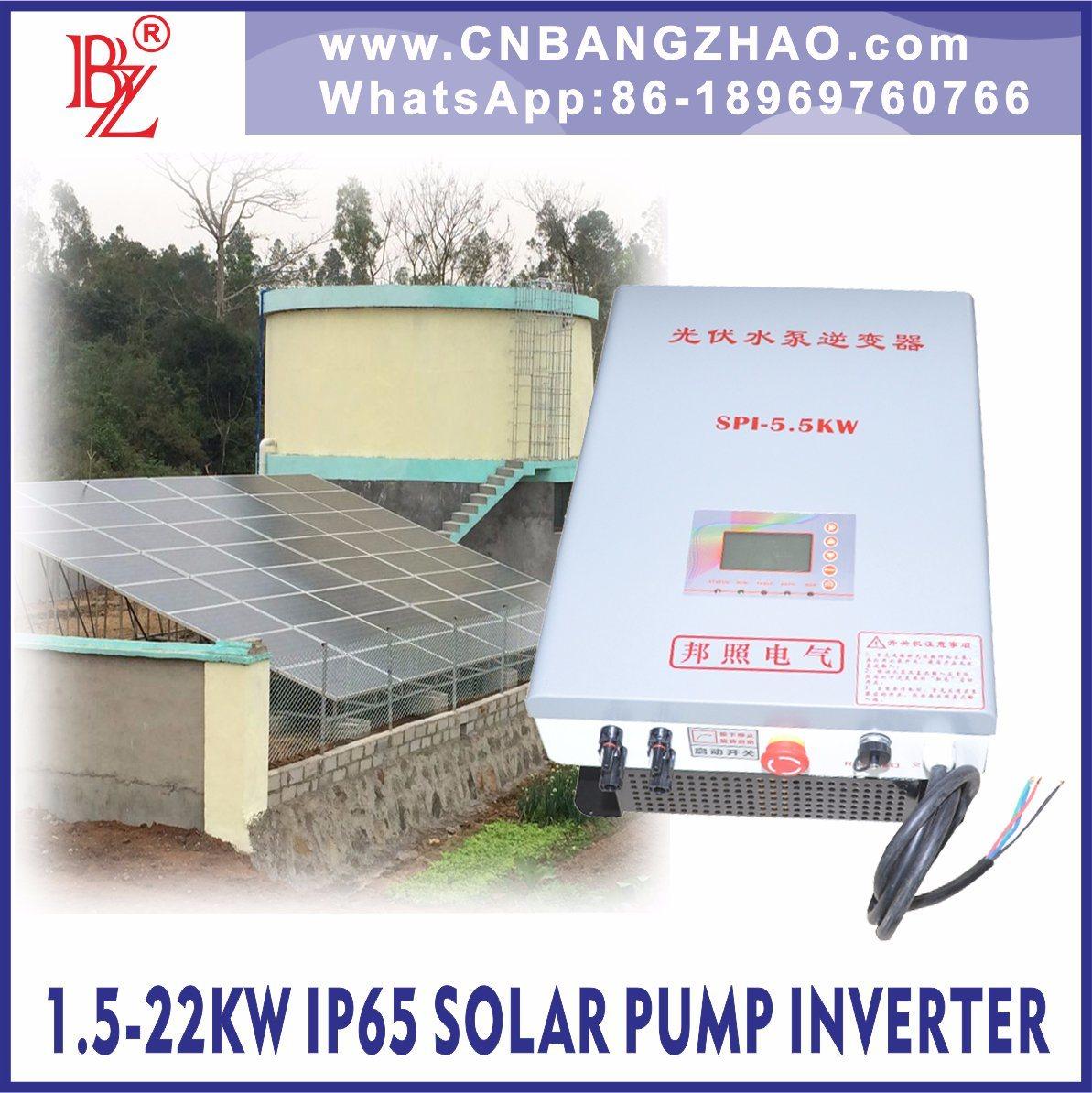 Pure Sine Wave 3 Phase Pump Motor Inverter for 460V Centrifugal Pump