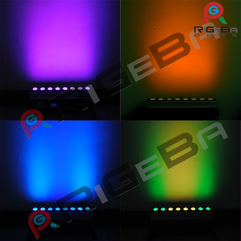 Wireless Battery Mini LED Wall Washer Bar Stage Light