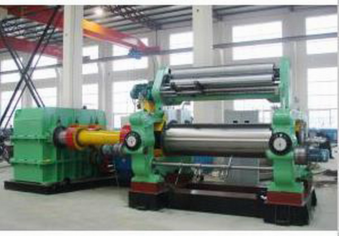 Rubber Sheeting Mill with Stock Blender / Xk-360 Rubber Mixing Mill
