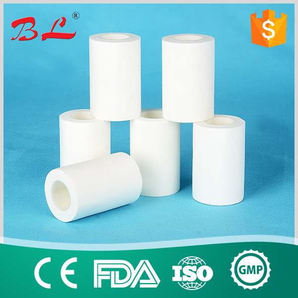 Hypoallergenic Surgical Snowflake Zinc Oxide Adhesive Plaster in Metal Tin