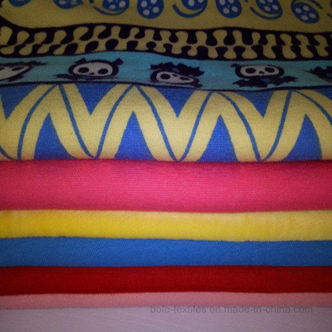 Polyester Fabric/Polar Fleece/Superfinefiber/Spandex Velvet/Flannelette/Knitted Elastic Velvet