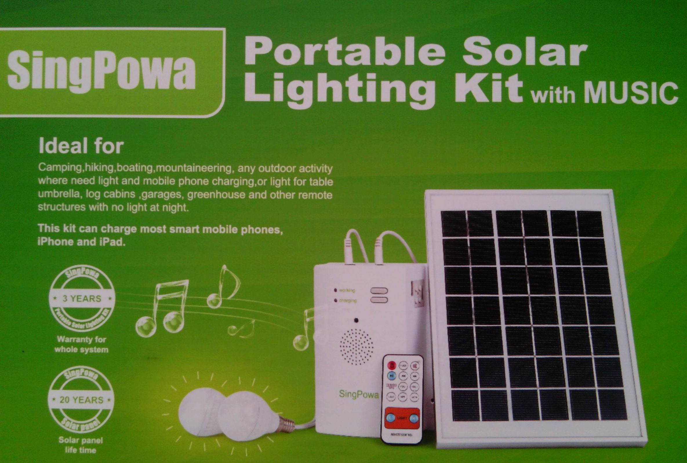 Fourth Generation LED Solar Radio with Charger / Flashlight / Bluetooth / MP3
