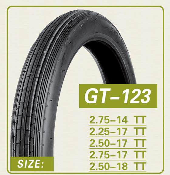2.5-18/2.75-18, Tube Type, Front Pattern, Motorcycle Tire, Motorcycle Part