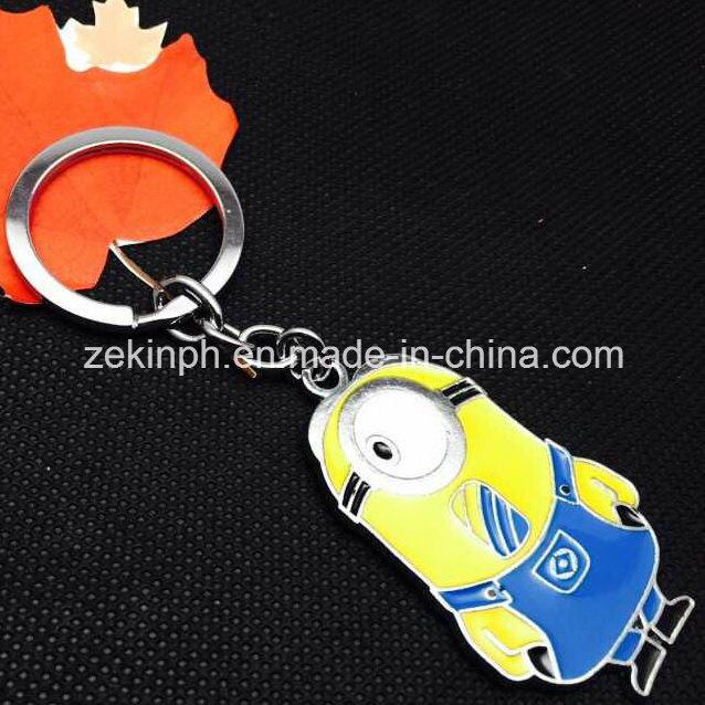 Custom Cute Promotional Cartoon Figure Key Chain