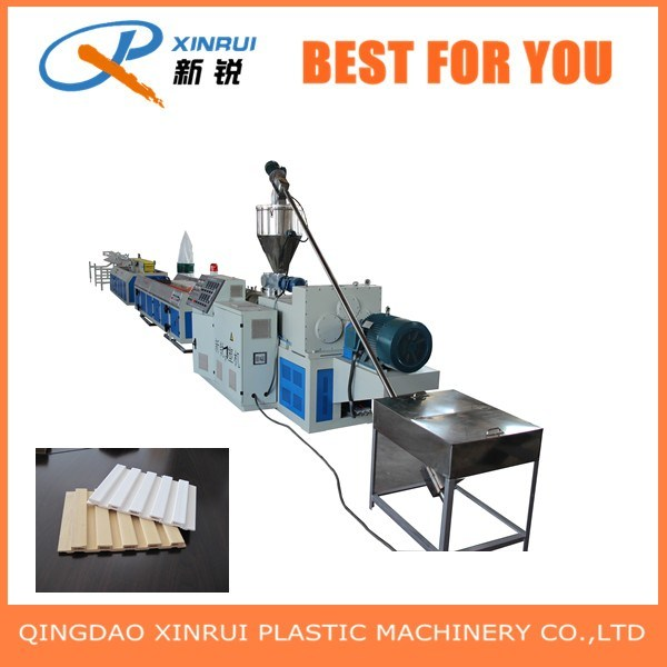 PVC Plastic WPC Decking Board Extrusion Making Machine
