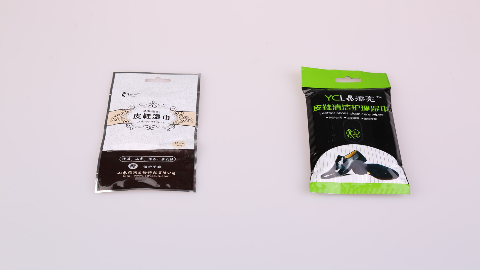 Shoes Skin Care and Cleaning Wipes
