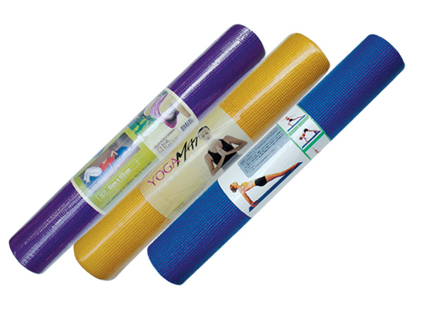 Eco Yoga Mats, Flower Power Yoga Mat, PVC Yoga Mats