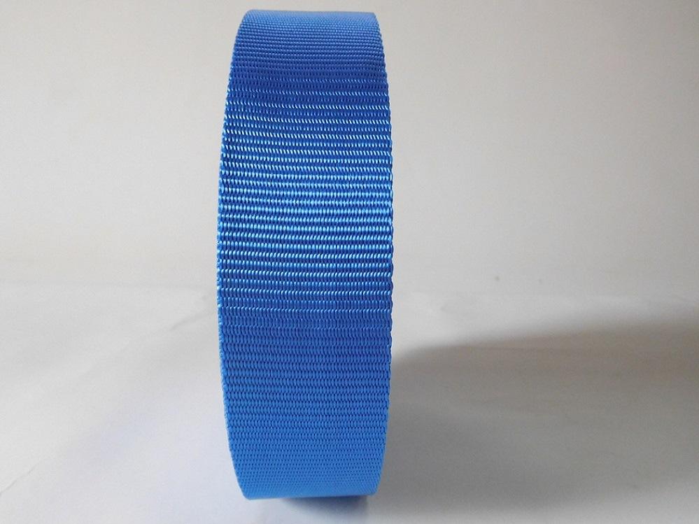 45mm Blue Polyester Webbing for Car Safety Belt