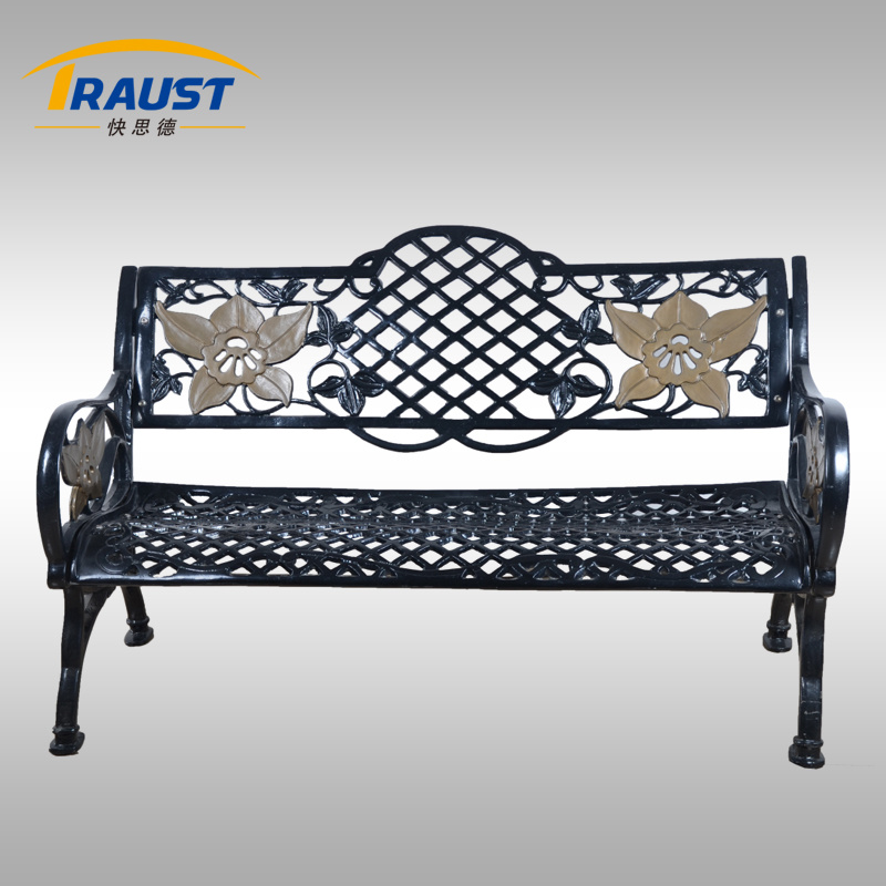 Outdoor Patio Cast Iron Leisure Bench