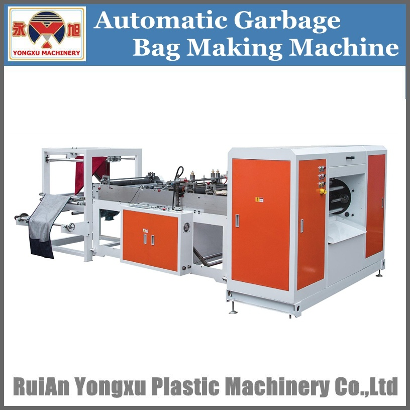 Automatic Garbage Bag Making Machine