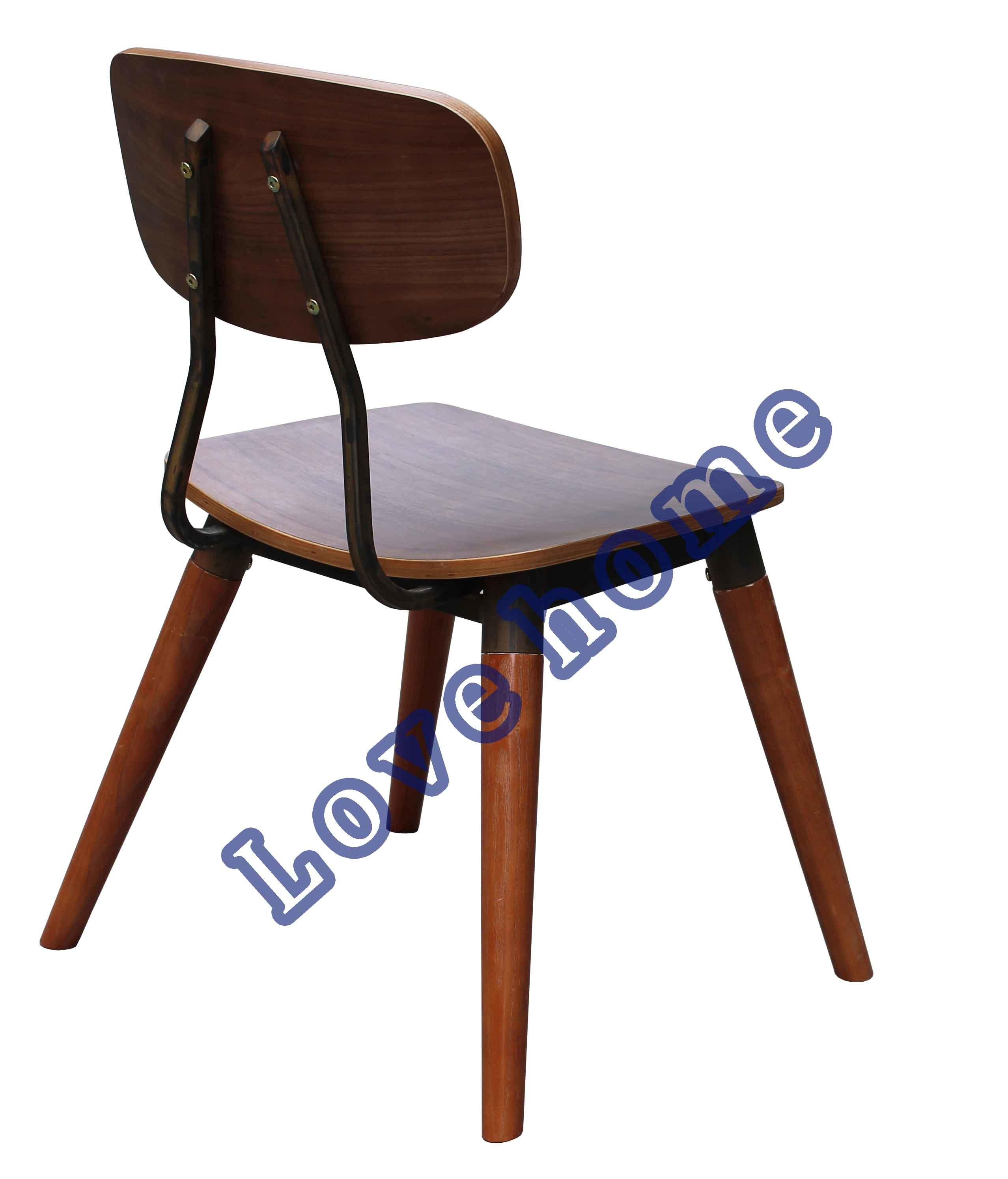 Classic Dining Restaurant Furniture Walnut Copine Sean Dix Chair