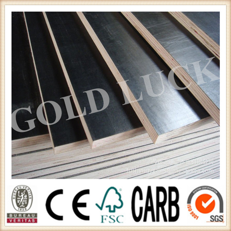 Qingdao Gold Luck Film Faced Plywood Bridge Template (QDGL150113)